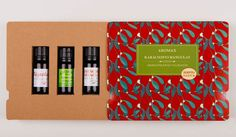 Aromax Essential Oil Gift Pack on Packaging of the World - Creative Package Design Gallery #packaging #branding #beauty