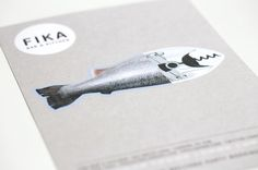 Fika Designers Anonymous #designers #print #anonymous #identity #collateral