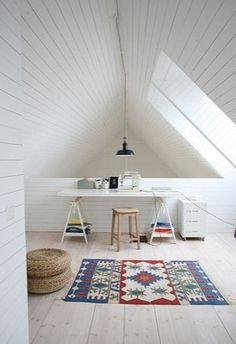 white-slatted-ceiling.jpg (329×480) #intereior #homes
