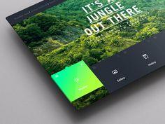 Weather Dashboard / Global Outlook (2) #pattern #weather #ux #portal #winter #ui #dashboard #app #jungle #green