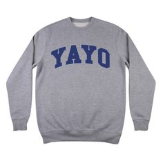 Image of YAYO CREW NECK #coke #psycho #rap #american #illuminati #drugs #college #league #boys #ivy #music #yayo