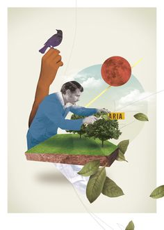 ARIA – for Natural Recall #illustration #collage
