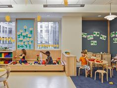 1960s Brutalist Building in Manhattan Transformed into a Vibrant Learning Environment 4
