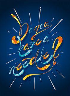 Typographic Illustrations by blindSALIDA