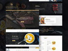 Steakville : Restaurant PSD Web Template - Free Download | Freebiesjedi