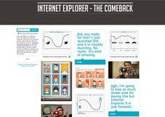 Tumblr Theme Internet Explorer: The Comeback #theme #internet #tumblr #explorer