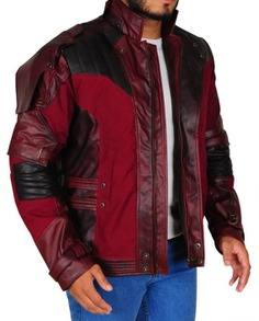 Star Lord Cosplay Leather Jacket (8)