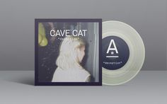 CAVE CAT single cover #ep #sweden #girl #packaging #cave #cat #vinyl #transparent #pinata