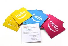 ERICKMELENDEZ #logo #branding #business cards #hellosmile