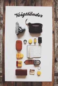 lylaandblu:The Voigtlander x 1924.US #things organized neatly #organization #neat