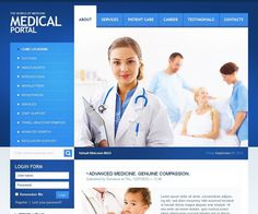 Medical and Health Drupal Themes