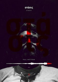 Paul Mottram - Stasis - inspiration #inspiration #design #classical #photography #poster #music #typography