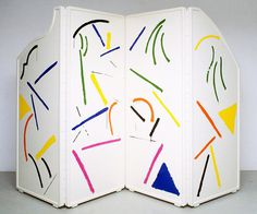 aqqindex: David Hockney, Caribbean Tea Time, Screen, 1987 #paint #art #sketchy