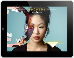 Katachi Magazine: An Engaging iPad Publication Launches - Grids - SPD.ORG - Grids #ipad #magazine
