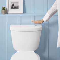 Touchless Toilet Flush Kit by Kohler #tech #flow #gadget #gift #ideas #cool