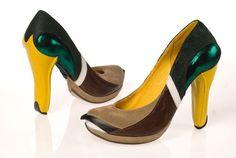 Bird Shoes by Kobi Levi | CMYBacon #mallard #shoe #bird