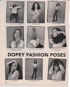 [Fig. 5] Dopey Fashion Poses, Sassy Magazine, 1993