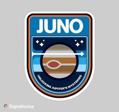 NASA mission patches on Behance