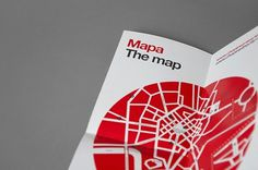 Chopin in the City on the Behance Network #graphic design #minimal #map design
