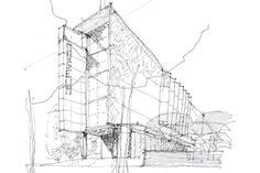06 azero_landini_Bolzano 800 #project #museum #design #drawing #architecture #art #pen #pencil