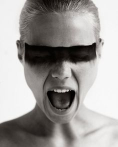 antonia magdalena #paint #woman #black