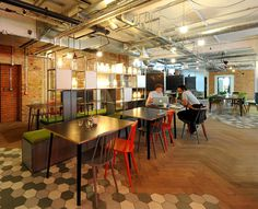 Shared Office Space – The Pill Box - #office, office design, office space