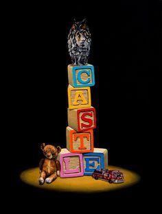 Owl animal surreal art #surrealism #realism #painting #paintings #art #animal