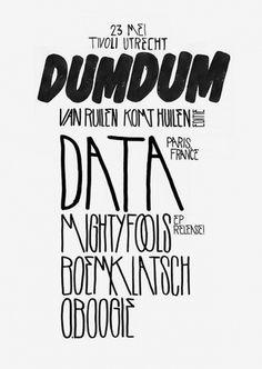 BASTER #design #poster #typography