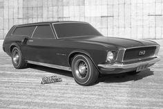 1966 Ford Mustang wagon #wagon #mustang #station #ford