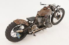 LE CONTAINER: Rit #bike #rat #motorcycle #rust