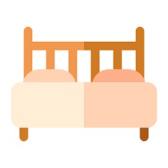 See more icon inspiration related to bed, bedroom, furniture and household, double bed, house things, furniture, double and rest on Flaticon.