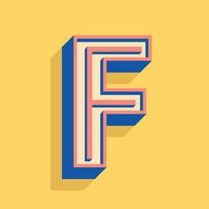 F - Heymikel #typographie #lettes #lettering #heymikel