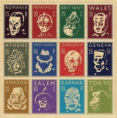 Stamps & monsters