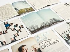 design work life » lg2boutique: Agropur Annual Report #print