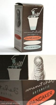 Vintage Automatic Pancaker Packaging