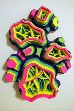 Charles Clary | PICDIT #design #color #inspiring #artwork #art #paper