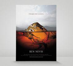 Ben Nevis Colin Bennett #mountain #ice #ice cube #whisky #ben nevis