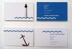 Creative Review - SomeOne makes splash for Maritime Museum #card #photography #identity #business