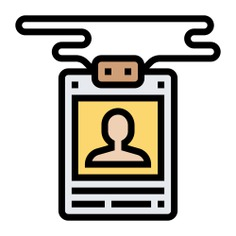 See more icon inspiration related to press, card press, Tools and utensils, journalist, reporter, id card, pass, identification and identity on Flaticon.