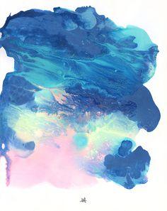Manha - Michael Cina Art #abstract #artwork #painting #cina #michael
