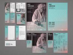 Morphoria Die Grosse Kunstausstellung NRW 2013 #posters #identity #book #typography