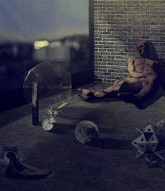 Seeming Act by Massimiliano Grandoni #illustration #art