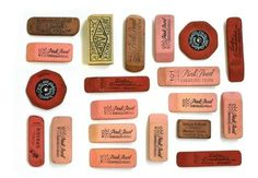 oh, hello friend: you are loved.: a collection trade: #pink #erasers #organized