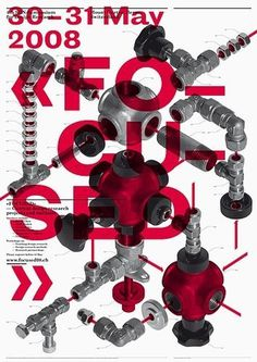 > Focused, Current Design Research Projects and Methods #c2f #swiss #poster #typography