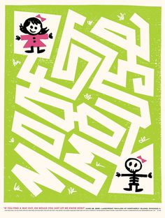 GigPosters.com - Modest Mouse #gigposter #screenprint