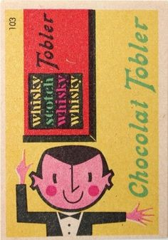 matchbox label | Flickr - Photo Sharing! #design #retro #illustration #vintage #matchbook #cute