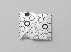 Cesium-137 on the Behance Network #paper #white #black