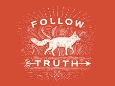 Son las huestes #truth #cut #lines #fox #print #wood #animal #wolf #made #arrow #hand