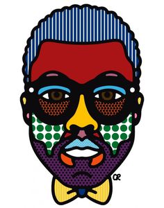 Kanye West Portrait | MONOmoda #kaney #illustration #craigandkarl #west