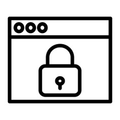 See more icon inspiration related to antivirus, ui, privacy, browser, padlock, protection, interface, security, internet and connection on Flaticon.